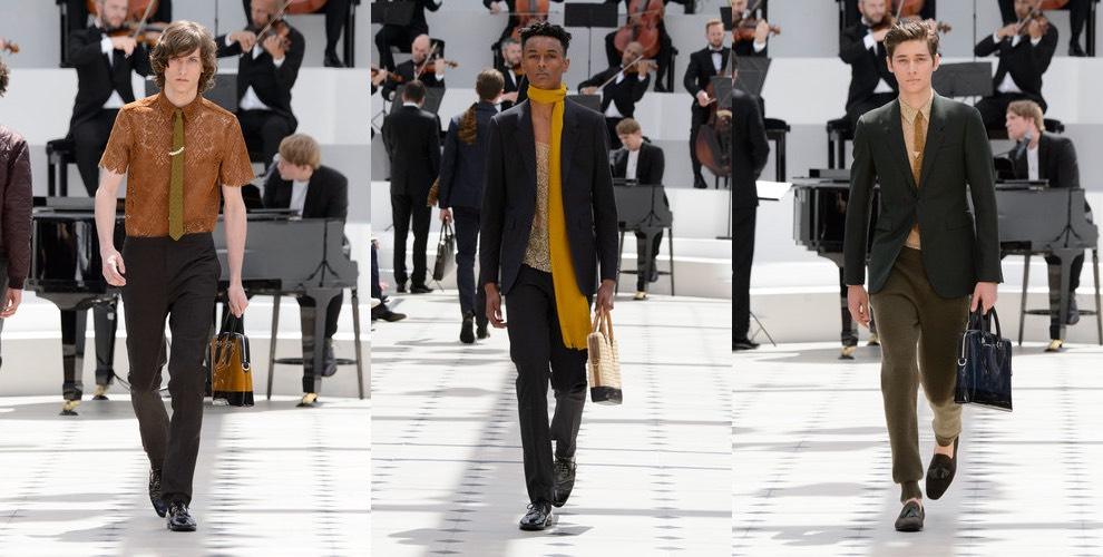 Burberry sfilata moda uomo estate 2016