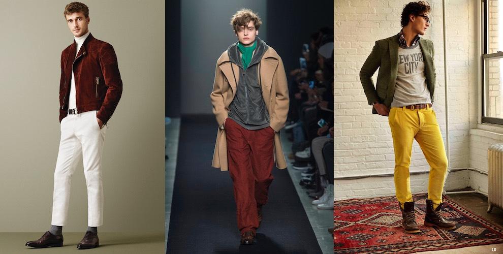 Uomo 2016Come Abbinare Inverno Pantaloni I Idee Moda Colorati9 76yIvfgYb
