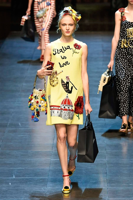 Dolce&Gabbana: sfilata primavera estate 2016
