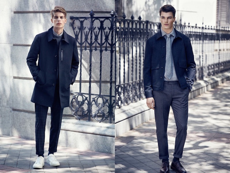 Moda uomo Mango inverno 2015-2016