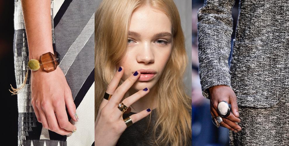 anelli bracciali moda inverno 2016
