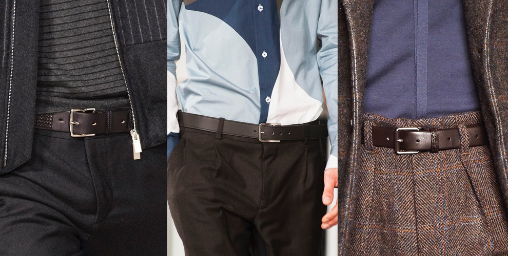 cinture moda uomo inverno 2016