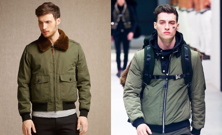 moda uomo inverno 2016-giubotti verdi