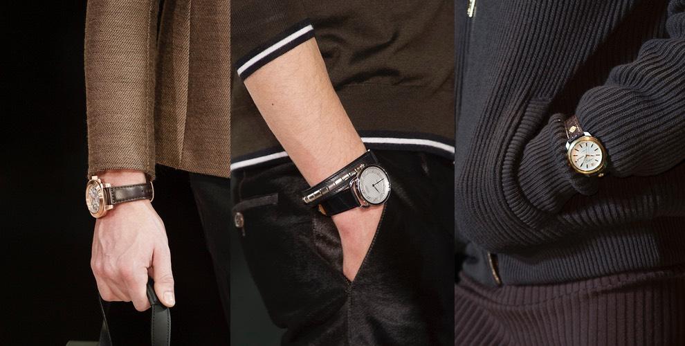 orologio uomo moda inverno 2016