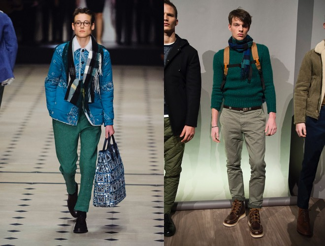 uomo pantaloni verdi inverno 2016