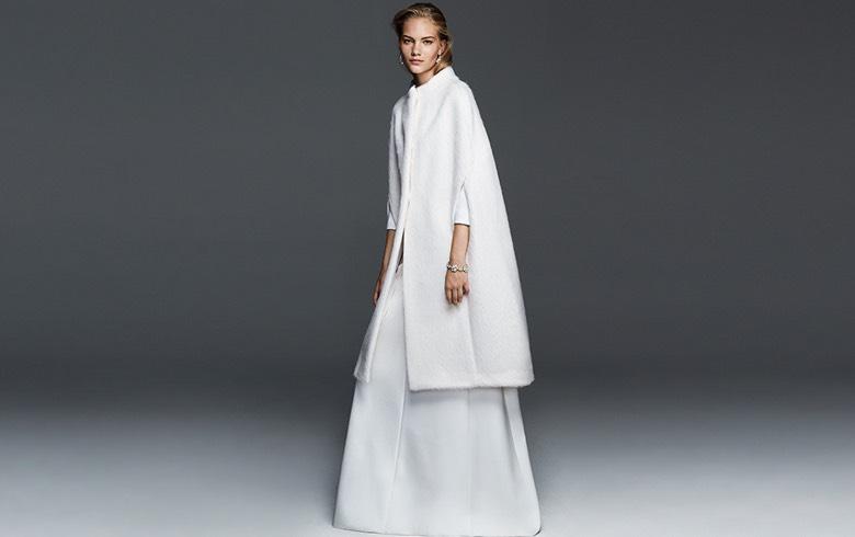 Cappotto sposa inverno 2016