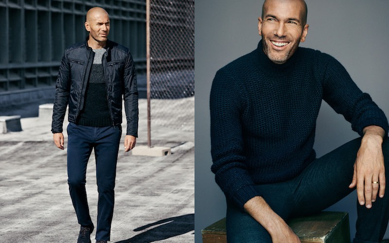 Mango Uomo inverno 2016 Zidane