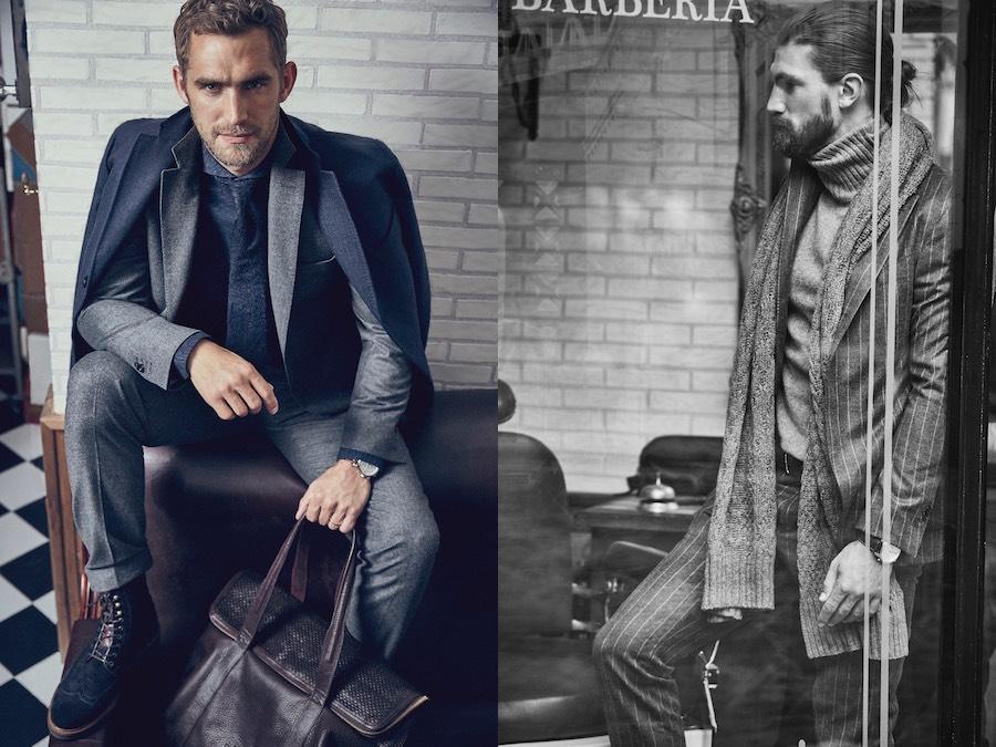Moda uomo  elegante per l inverno 2016. 7 idee per vestire con stile ... e37c0448180