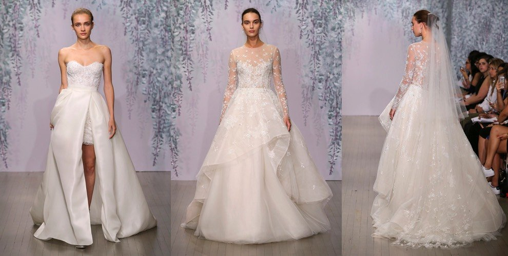 Monique Lhullier sposa inverno 2016
