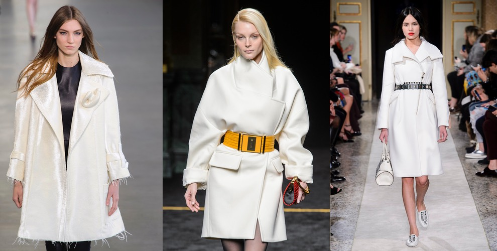 cappotti bianchi inverno 2016