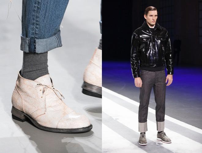 Jeans inverno sopra la caviglia