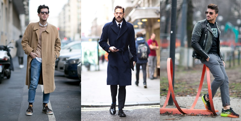 Street style moda uomo inverno 2015
