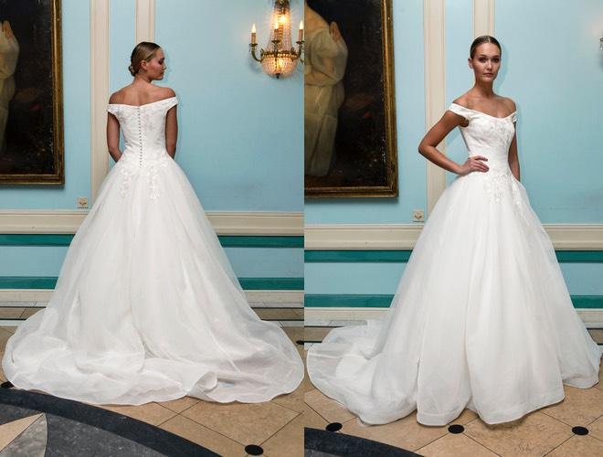 Zac Posen abito bianco sposa