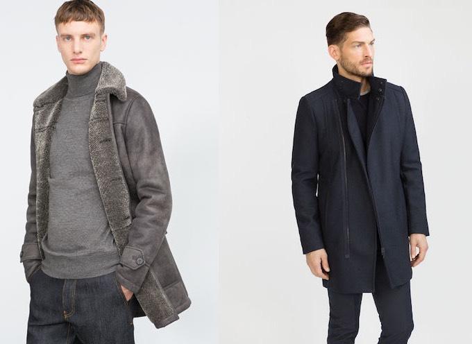 Zara uomo inverno 2016