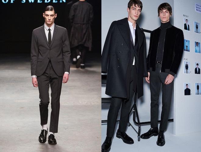 abiti neri eleganti uomo inverno 2016