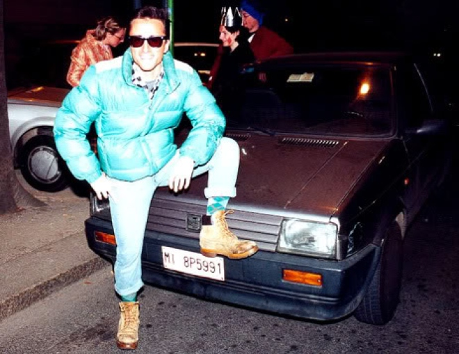 piumino anni 80