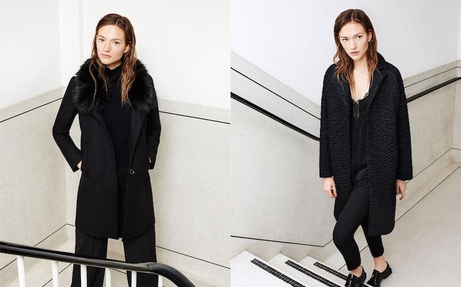 Catalogo Zara donna cappotti inverno
