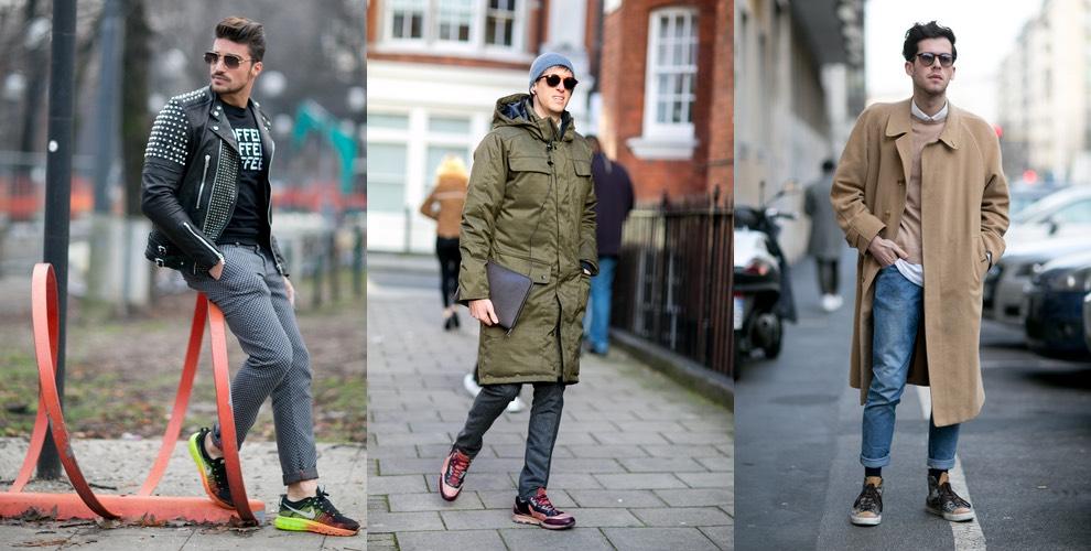 Street style moda uomo inverno