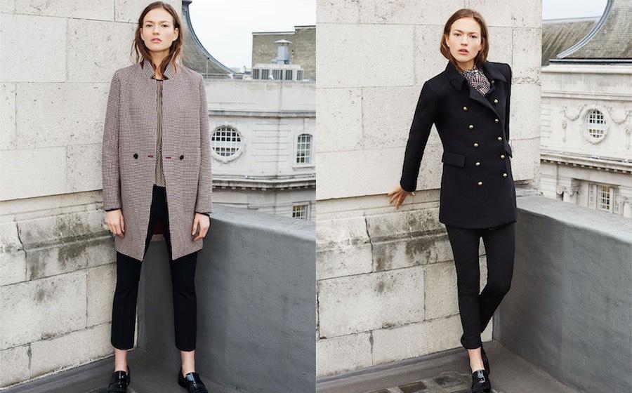 Catalogo Zara donna i nuovi cappotti inverno 2016. - Moda uomo Moda ... d875f3a745bc