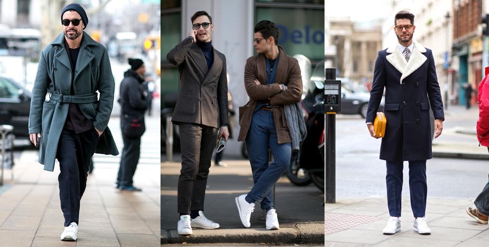moda uomo scarpe sportive e abiti