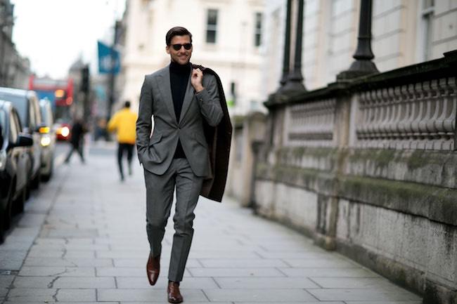 Moda uomo street style Londra