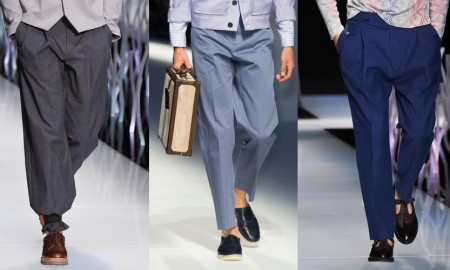 Pantaloni uomo estate 2016