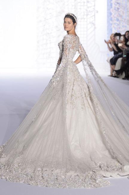 266952048ff9 Ralph e Russo abito da sposa alta moda 2016