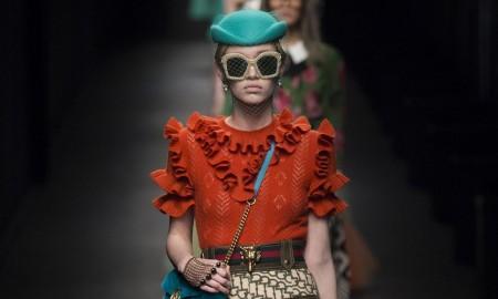 Gucci moda donna inverno 2016-2017