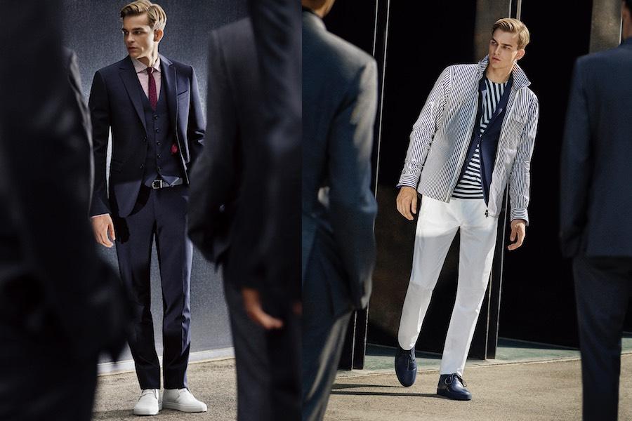 Vestiti Uomo Elegante Sportivo ~ Z zegna l uomo elegante e sportivo per la  primavera d55e187d2f4
