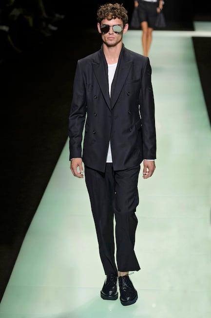 giacca e maglietta uomo