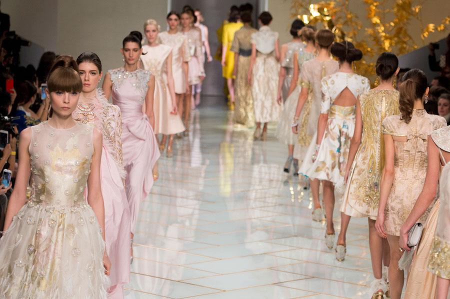 Guo Pei alta moda estate 2016