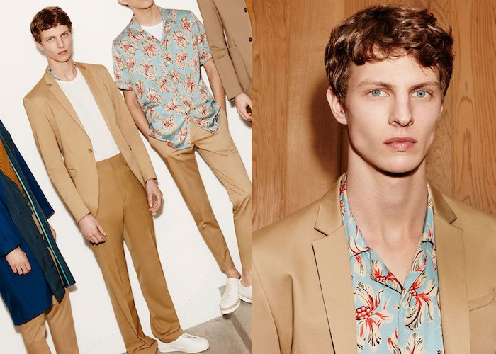 Zara catalogo uomo primavera estate 2016