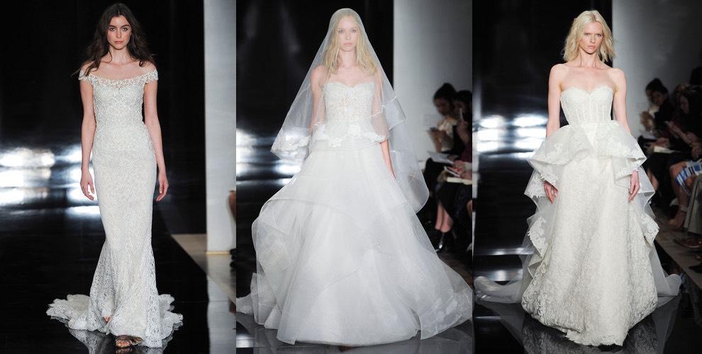Reem Acra abiti da sposa p-e 2017. Foto - Moda uomo Moda donna f95e0f3c5f7