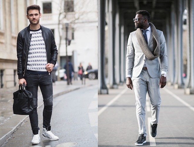 Street style uomo marzo 2016
