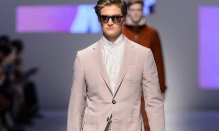 Canali uomo abito rosa estate 2016