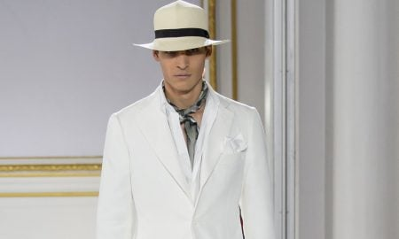 Cifonelli moda uomo estate 2016 abito bianco