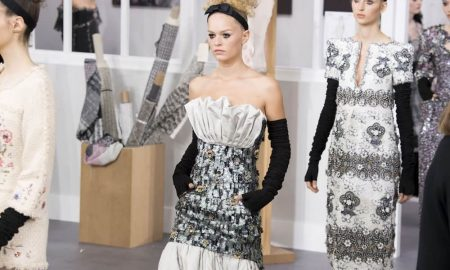 Giorgio armani donna sfilata autunno inverno 2016 2017 for Chanel alta moda
