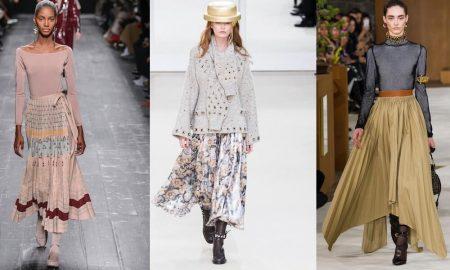 Gonne lunghe moda autunno inverno 2016-2017
