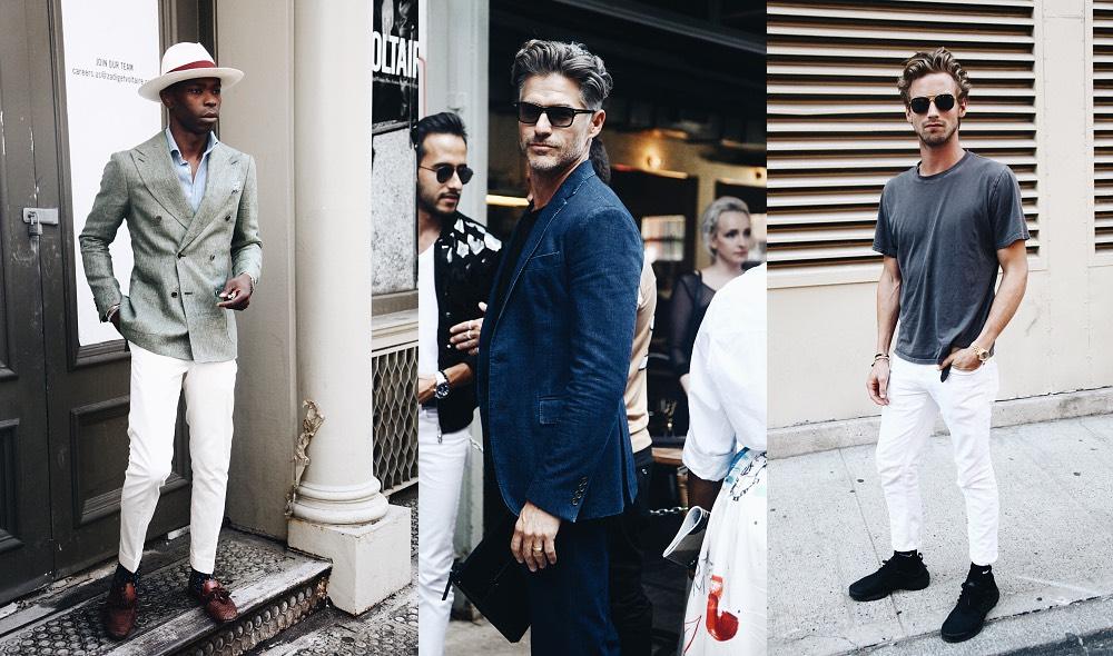 Moda uomo New York street style