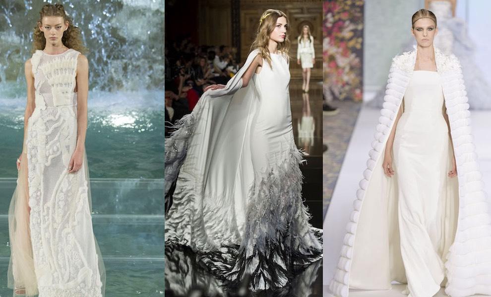 abbastanza La sposa inverno 2017 secondo l'Alta Moda: non solo bianco - Moda  VI03
