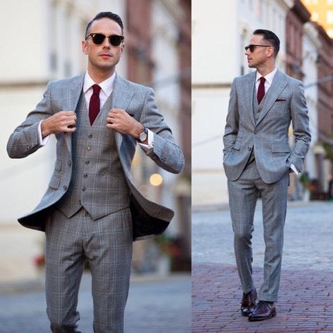prezzo competitivo 70f51 ea016 7 modi infallibili per indossare l'abito grigio, dalla ...