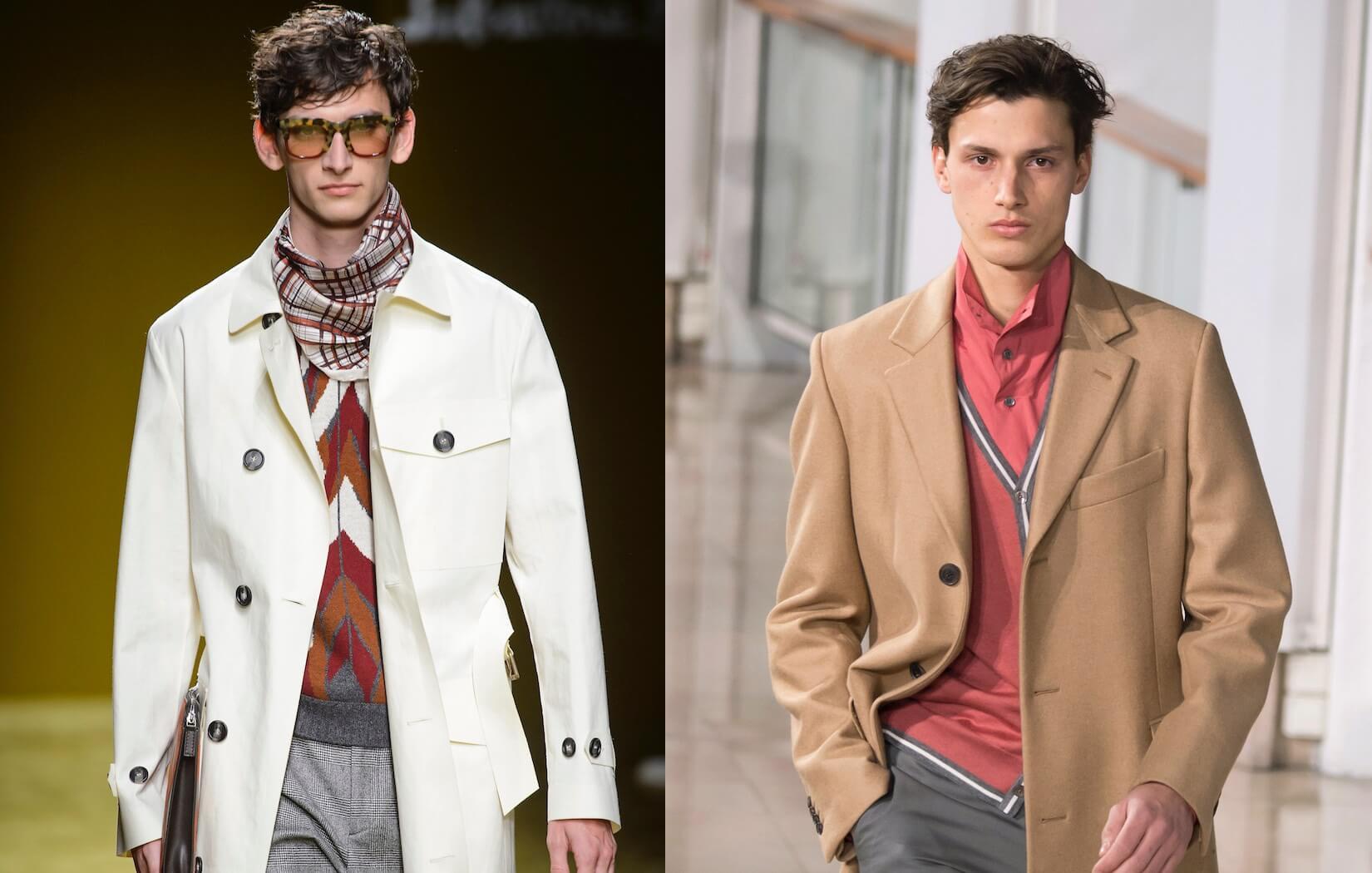Foulard Uomo Matrimonio : Moda uomo trench e cappotti tra le tendenze dell inverno