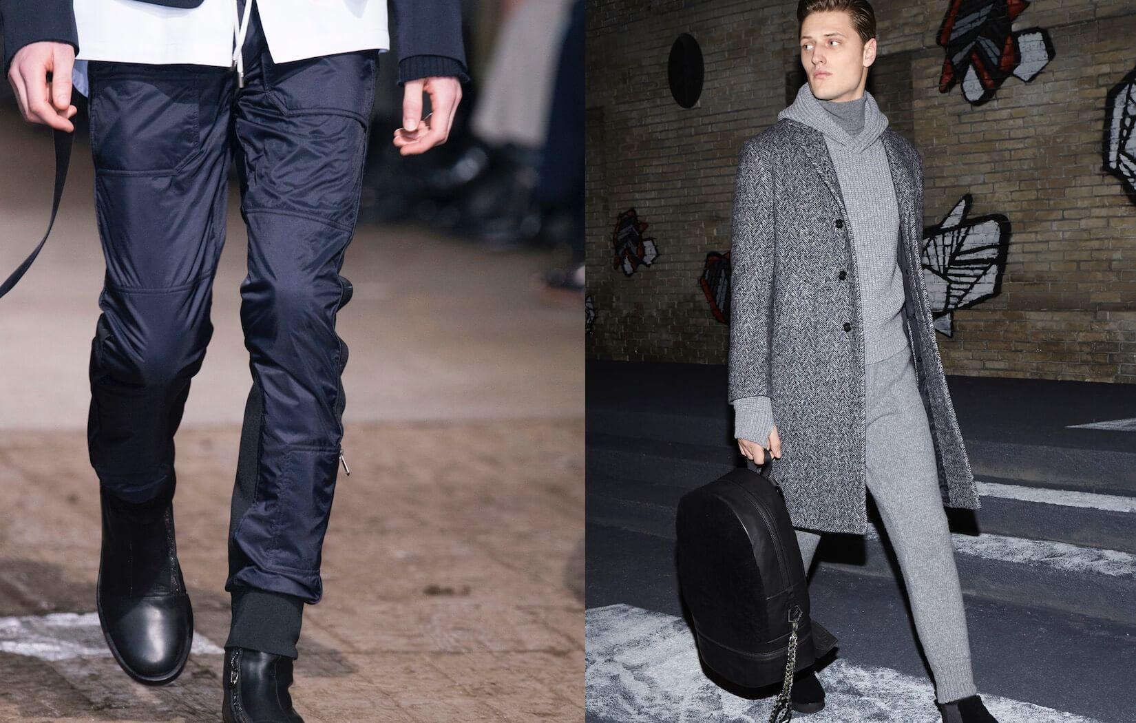 Matrimonio Vestiti Uomo : Moda uomo inverno eleganza casual jeans e pantaloni