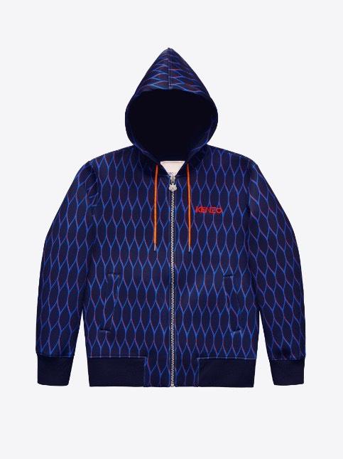 Kenzo X H&M uomo giubbotto blu