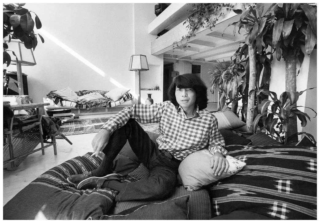 Kenzo Takada nel 1978 a Parigi