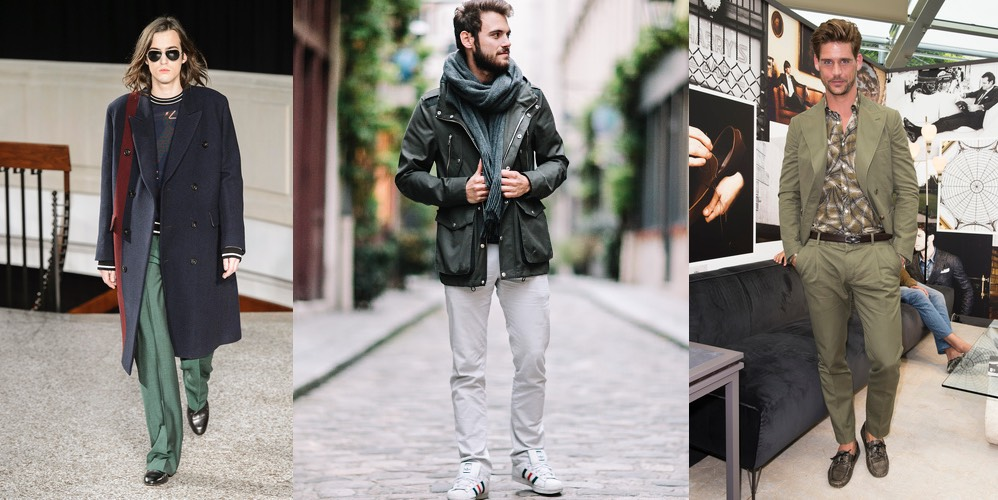 Moda Uomo Verde Donna Abbina Il Uomo Esempi 10 Come Si w8wqT