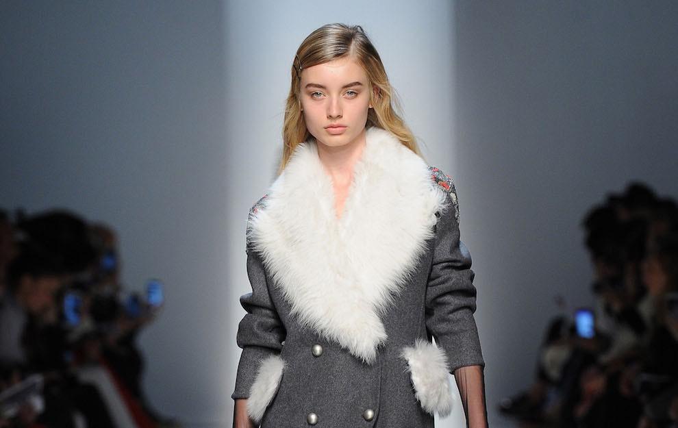 cappotti 2017 con pellicia donna fotto