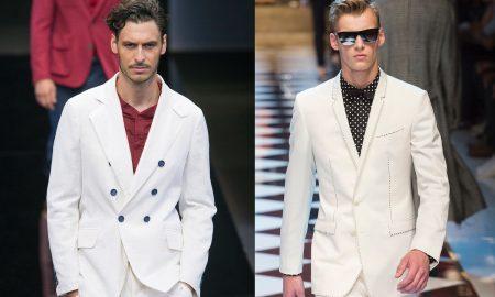 Le tendenze moda uomo estate 2017  abiti e giacca bianca 0710407a292c