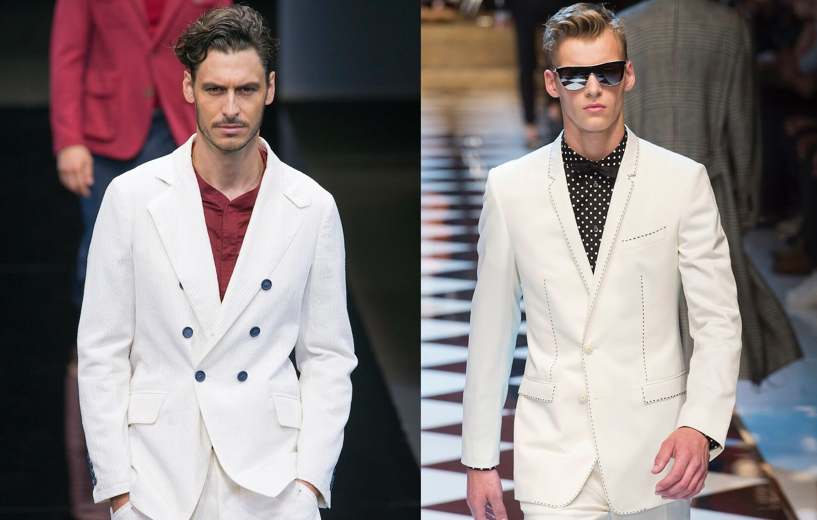Giacche uomo PrimaveraEstate 2017, i modelli di tendenza