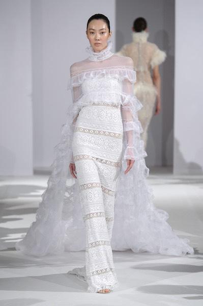 Kritharioti abito sposa alta moda 2017